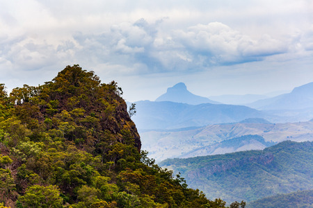 Beautfiul rugged landscape of inland Queensland, Australia Stock Photo