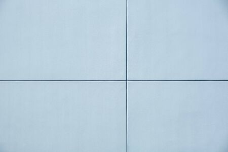 Concrete wall panels divided into four sections with copy space Stockfoto