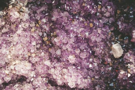 Purple crystal abstract background
