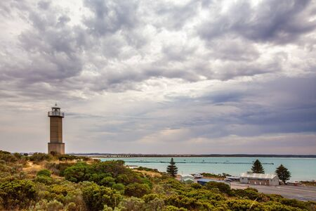 Cape Martin Lighthouse in Beachport, South Australia