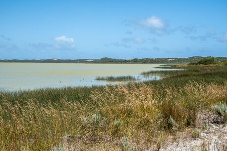Lake George at Beachport Conservation Park in South Australia