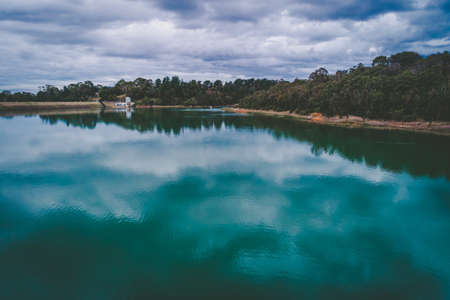 Water reservoir in Melbourne, Australia