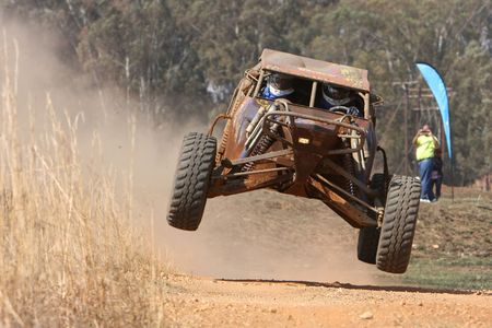 off road vehicle: Rally car ramping