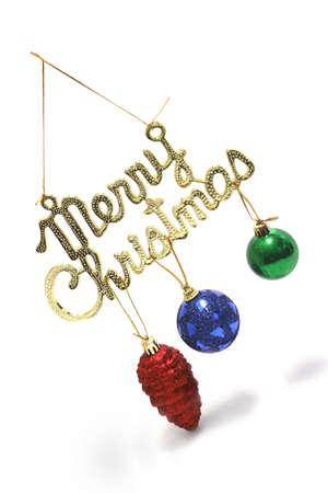 typewrite: shiny merry christmas typewrite and toy