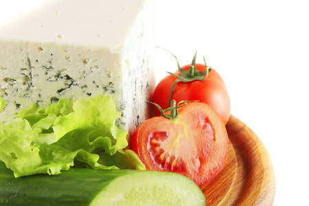 epicurean: blue stilton cheese and tomatoes