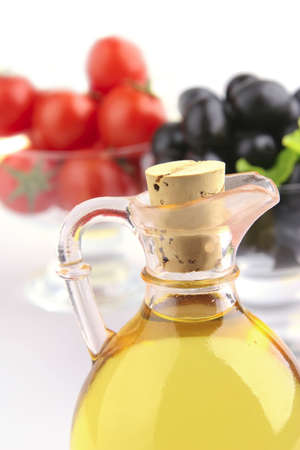 extra virgin olive oil: olive oil and vegetables