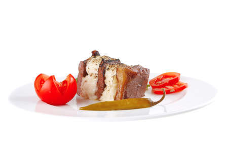 fused: roast beef fillet and fused yellow cheese