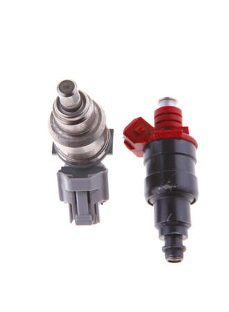 injector: image of used car injector on white