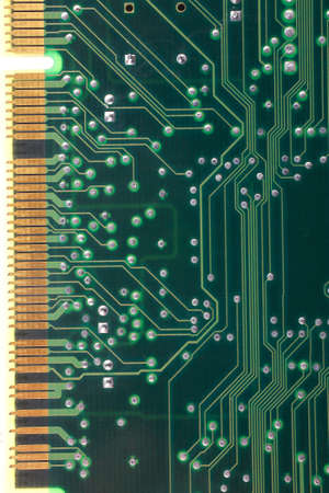 dimm: back view of computer plate as background
