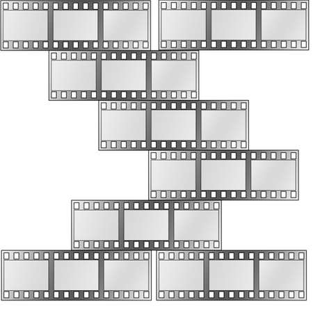 image of photo film strip as background Stock Photo - 7399081