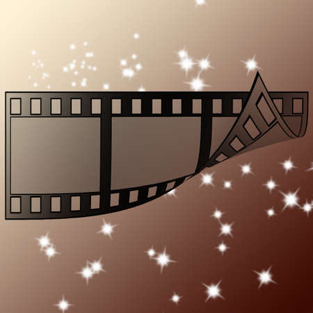 image of photo film strip as background Stock Photo - 7399051