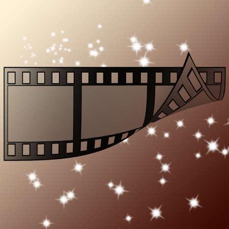image of photo film strip as background Stock Photo - 7399051