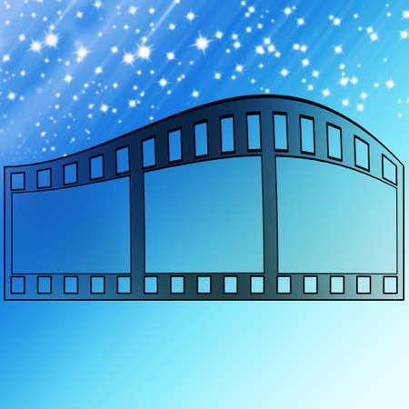 image of photo film strip as background Stock Photo - 7424221