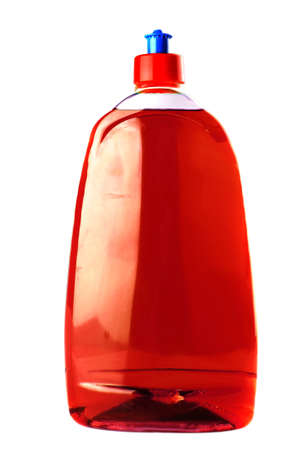 colored isolated soap bottle over white background Stock Photo - 7424160