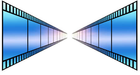 image of photo film strip as background Stock Photo - 7495934