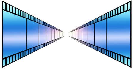 image of photo film strip as background Stock Photo - 7495934