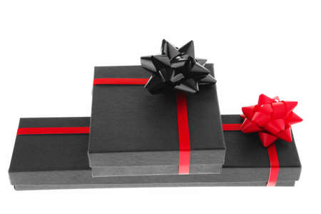 image of black box with red type Stock Photo - 7614485