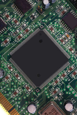 close up image of processor as background photo