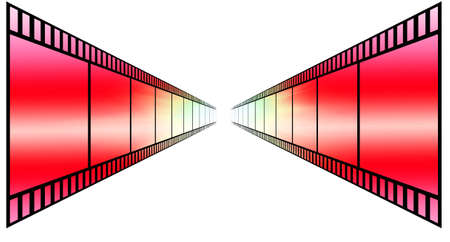image of photo film strip as background Stock Photo - 7660509