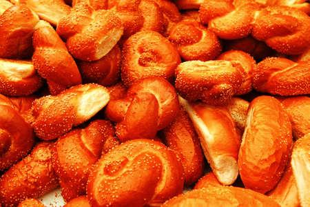 many baked buns Stock Photo - 20056026