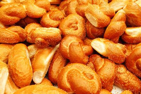 many baked buns photo
