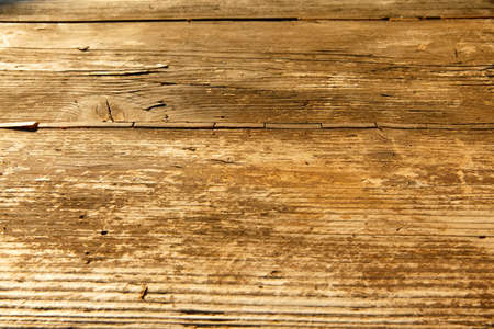 high resolution background texture of natural brown wooden table photo