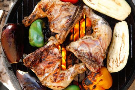 recipe: grilled chicken eggplant [36]