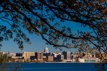 Skyline of Madison, Wisconsin