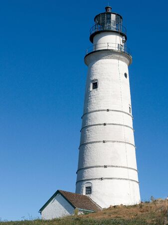 manned: The Boston Light, the only continuously manned Coast Guard lighthouse
