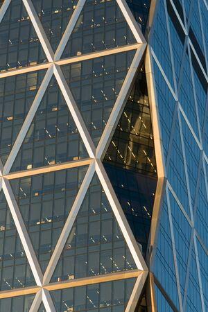 A segment of a skyscraper Imagens - 2249559