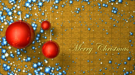 merry christmas card Stock Photo - 18602949