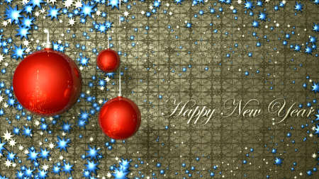 happy new year card Stock Photo - 18602953