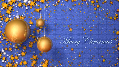 merry christmas card Stock Photo - 18602941