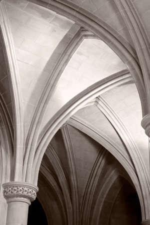 Gothic Arches of Washington National Cathedral Stock Photo - 4714456