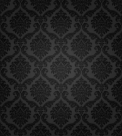 Naadloze damast patroon