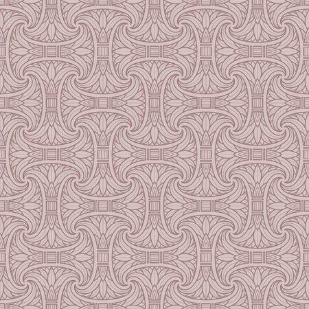 Seamless Egyptian pattern Ilustracja