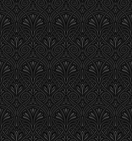 Seamless Art Nouveau pattern Stock fotó - 11028769