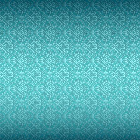 Naadloze Ornamental Wallpaper Vector Illustratie
