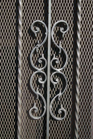 Background - ornamental metal