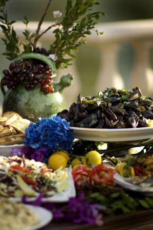 Italian villa feast