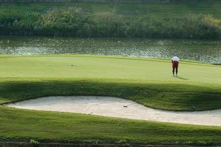 置くのゴルファー