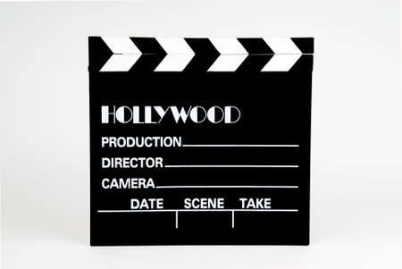 Hollywood-film film marker Stockfoto - 776416