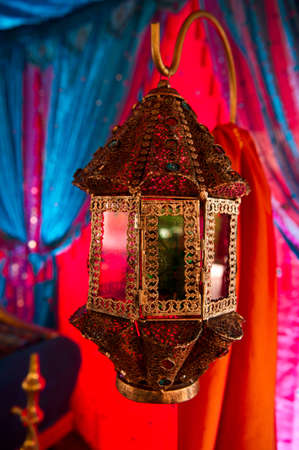Image of a beautifully detailed Indian Lamp Stock Photo - 10341258