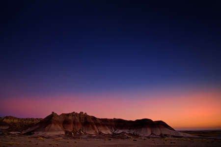 Image from the badlands national park in the USA photo
