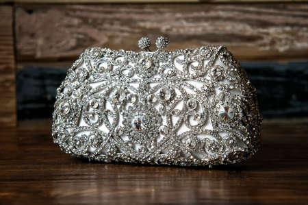 a jeweled clutch purse