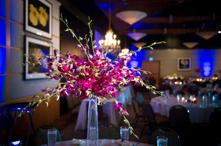 een prachtig versierde bruiloft bloem