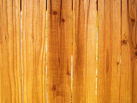 wood panel: wood fence close-up Stock Photo