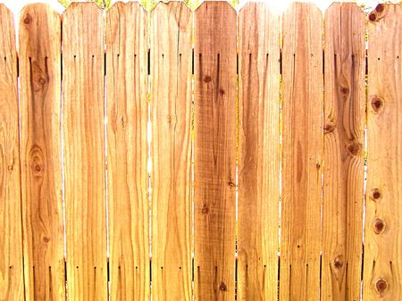 wood fence  photo