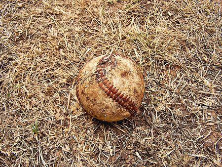 dirty baseball