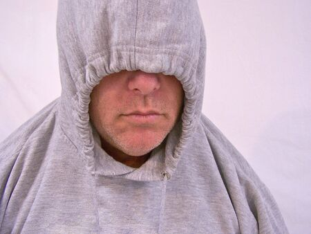 man with hooded sweatshirt Stock Photo - 3577774